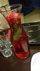 Roomali Red Mocktail Jug