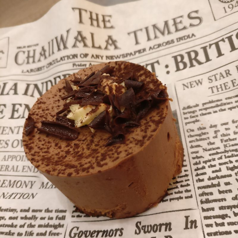 Chocolate Chai Mouse Chaiiwala Bolton