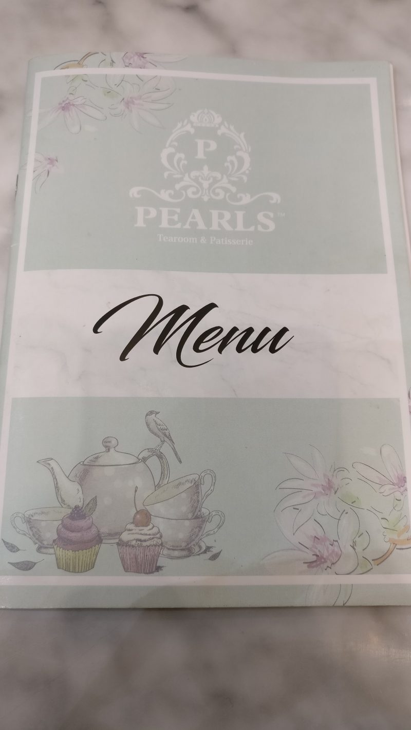Pearls TeaRoom Menu