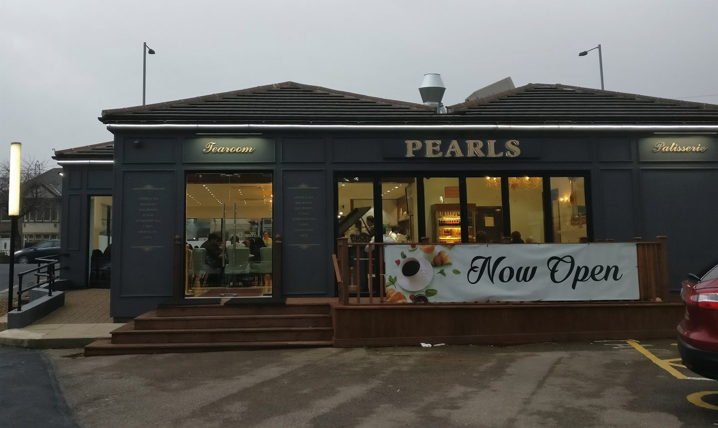Pearls TeaRoom Bradford Outside