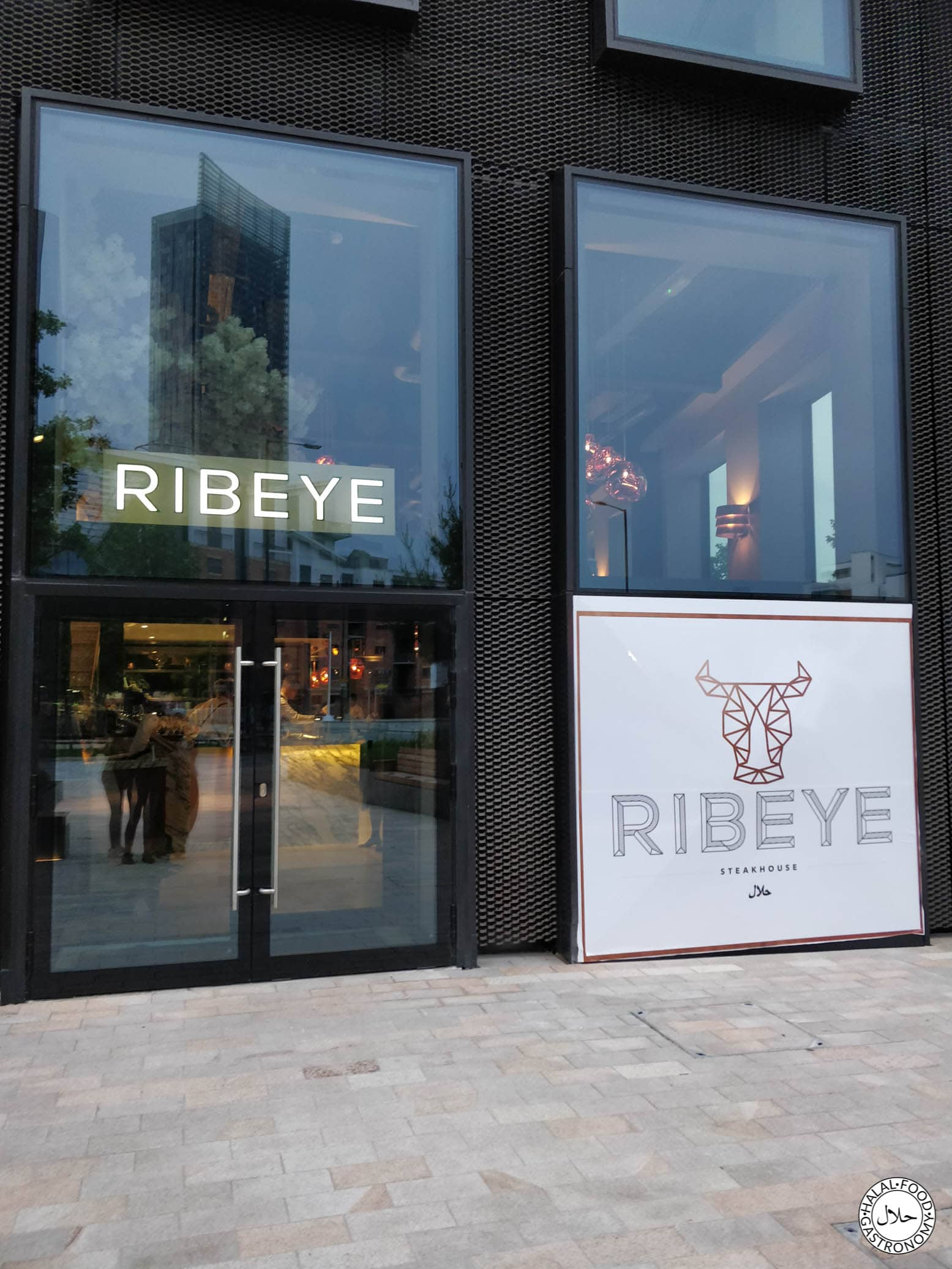 Ribeye Steakhouse Manchester Review Inc Menu Halal Food